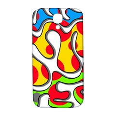 Colorful graffiti Samsung Galaxy S4 I9500/I9505  Hardshell Back Case
