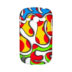 Colorful graffiti Samsung Galaxy S6810 Hardshell Case