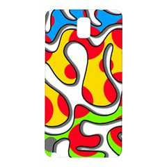 Colorful graffiti Samsung Galaxy Note 3 N9005 Hardshell Back Case
