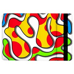 Colorful graffiti iPad Air 2 Flip