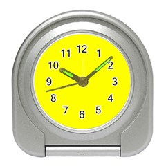Yellow colour Travel Alarm Clocks