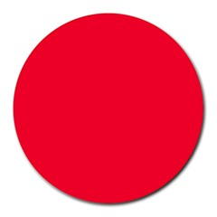 Torch Red Colour Round Mousepads