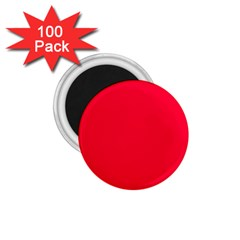 Torch Red Colour 1.75  Magnets (100 pack)