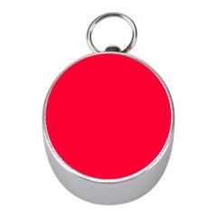 Torch Red Colour Mini Silver Compasses
