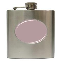 Thatch Colour Hip Flask (6 oz)