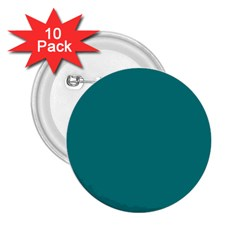 Teal Colour 2.25  Buttons (10 pack)