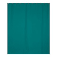 Teal Colour Shower Curtain 60  x 72  (Medium)