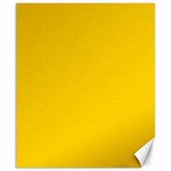 Tangerine Yellow Canvas 8  x 10