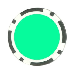 Spring Green Colour Poker Chip Card Guards
