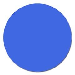 Royal Blue Colour Magnet 5  (Round)