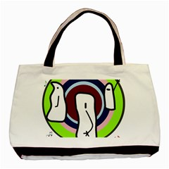 Disco Basic Tote Bag (Two Sides)