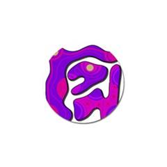 Purple graffiti Golf Ball Marker (10 pack)