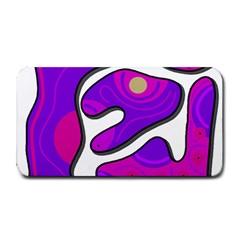 Purple graffiti Medium Bar Mats