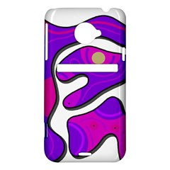 Purple graffiti HTC Evo 4G LTE Hardshell Case