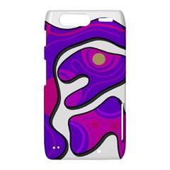 Purple graffiti Motorola Droid Razr XT912