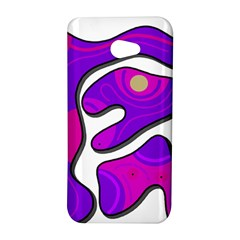 Purple graffiti HTC Butterfly S/HTC 9060 Hardshell Case