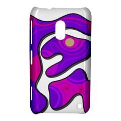 Purple graffiti Nokia Lumia 620