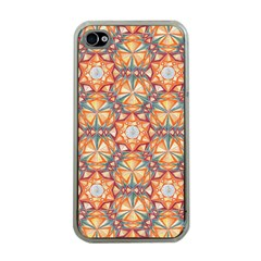 Sacred Geometry Pattern Apple iPhone 4 Case (Clear)