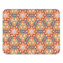Sacred Geometry Pattern Double Sided Flano Blanket (Large)