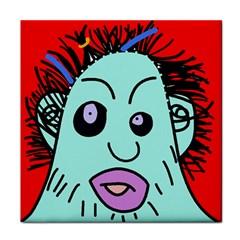 Caveman Face Towel