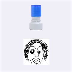 Caveman Rubber Round Stamps (Small)