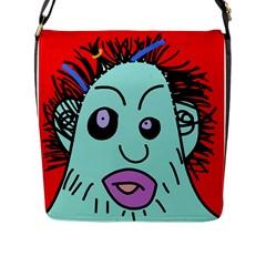 Caveman Flap Messenger Bag (L)