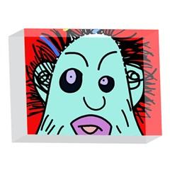 Caveman 5 x 7  Acrylic Photo Blocks