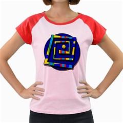 Maze Women s Cap Sleeve T-Shirt