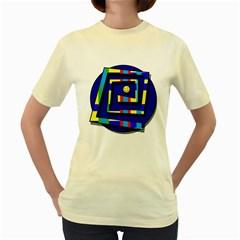 Maze Women s Yellow T-Shirt