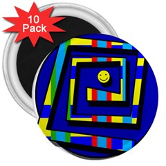 Maze 3  Magnets (10 pack)