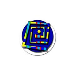 Maze Golf Ball Marker