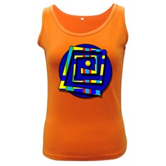 Maze Women s Dark Tank Top