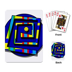 Maze Playing Card