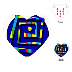 Maze Playing Cards (Heart)