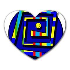 Maze Heart Mousepads
