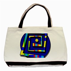 Maze Basic Tote Bag (Two Sides)