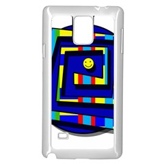 Maze Samsung Galaxy Note 4 Case (White)