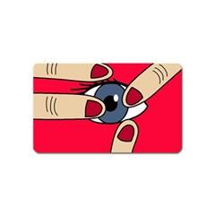 Poke in the eye Magnet (Name Card)