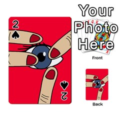 Poke in the eye Playing Cards 54 Designs