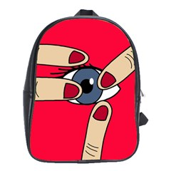 Poke in the eye School Bags(Large)