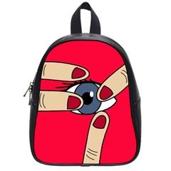 Poke in the eye School Bags (Small)