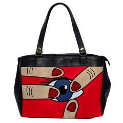 Poke in the eye Office Handbags
