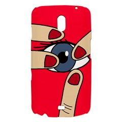 Poke in the eye Samsung Galaxy Nexus i9250 Hardshell Case