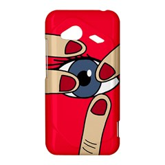 Poke in the eye HTC Droid Incredible 4G LTE Hardshell Case