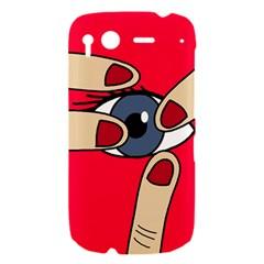 Poke in the eye HTC Desire S Hardshell Case