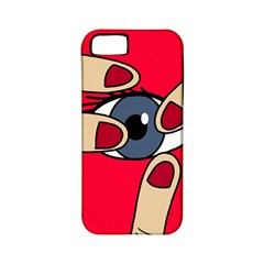 Poke in the eye Apple iPhone 5 Classic Hardshell Case (PC+Silicone)