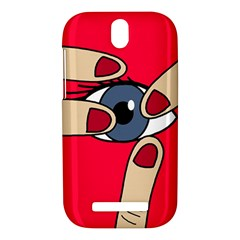 Poke in the eye HTC One SV Hardshell Case