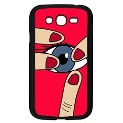 Poke in the eye Samsung Galaxy Grand DUOS I9082 Case (Black)