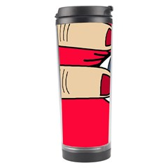 Poke in the eye Travel Tumbler