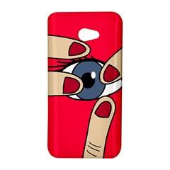Poke in the eye HTC Butterfly S/HTC 9060 Hardshell Case